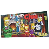 THE SIMPSONS CLUE Board Game 1st EDITION with Pewter Pieces