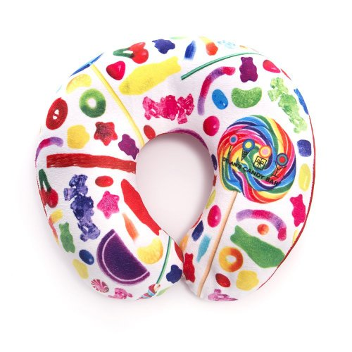 Dylan's Candy Bar Candy Spill Neck Roll Pillow