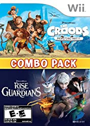 The Croods: Prehistoric Party & Rise of the Guardians: Combo Pack - Nintendo Wii