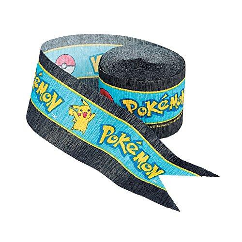 Pokemon 'Pikachu and Friends' Crepe Streamer