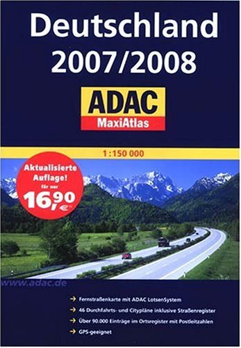 Deutshcland 2007/2008 ADAC MaxiAtlas (Germany MaxiAtlas)