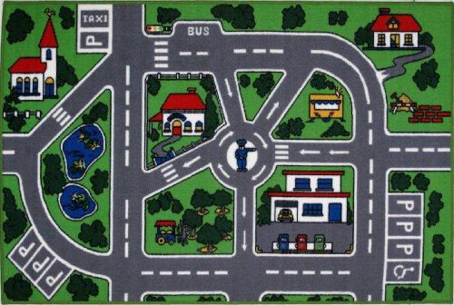 """LA Rug Streets Rug 19""""x29"""""""