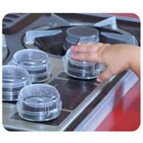 Dreambaby Stove Oven Knob Child Safety Covers - 4 Pack