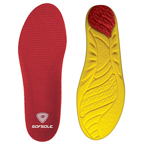 Sof Sole Arch Full Length Comfort High Arch Shoe Insole, Men's Size 11-12.5 (Shoe Inserts Men Arch Support compare prices)