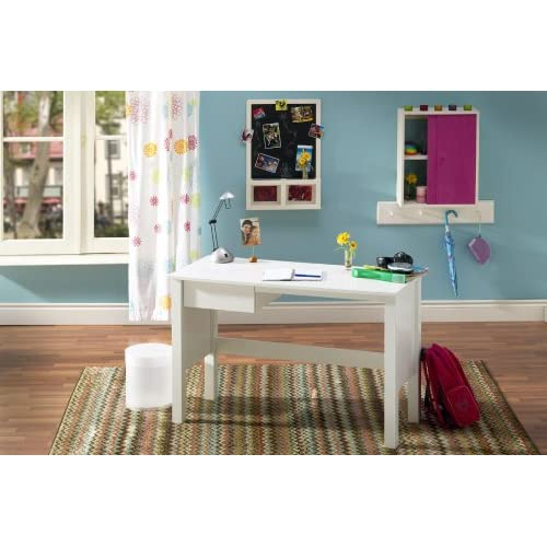 South Shore Desk, Contemporary, Pure White