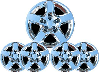 "'07-09 Saturn Aura Chrome 17"" Hub Caps Wheel Covers New"