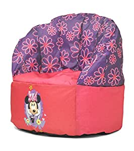 Amazon Com Disney Toddler Minnie Mouse Bean Bag Chair
