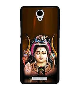 Bhagwan Shankar 2D Hard Polycarbonate Designer Back Case Cover for Xiaomi Redmi Note 2 :: Redmi Note 2 Prime