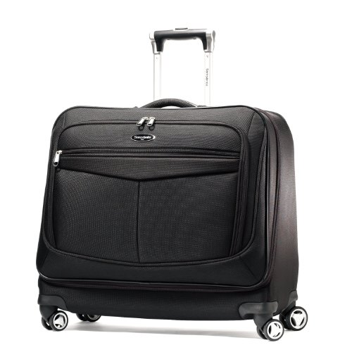 Samsonite Luggage Silhouette 12 Spinner Garment Bag, Black, One Size B004HKE34I
