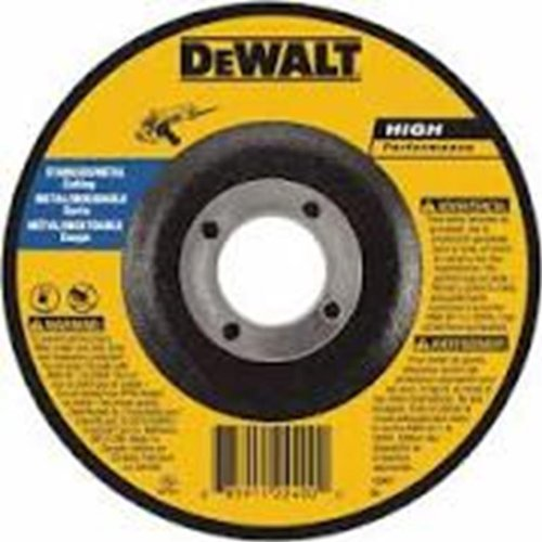Фото DEWALT DWA4534 T27 Metal Cut-Off Wheel, 7-Inch x .045-Inch x 7/8-Inch new 7 inch