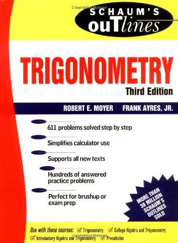 Schaum's Outline of Trigonometry PDF