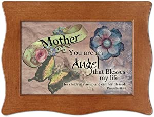 Mother Inspirational Cottage Garden Digital Music Box Plays I Can Only Imagine