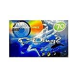 TDK カセットテープ CDing2 70分 重低音響く クリアサウンド ハイポジション CD2-70R