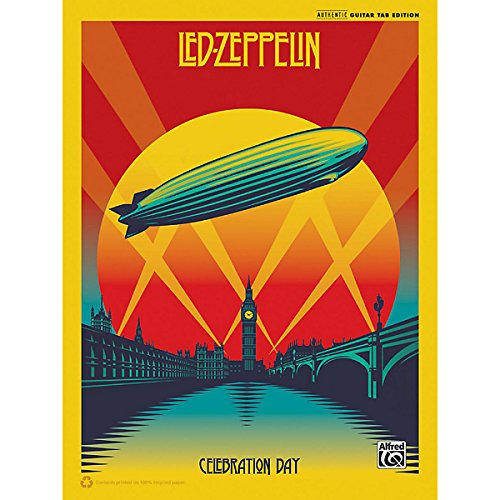 Alfred Led Zeppelin Celebration Day Guitar Songbook With Tab