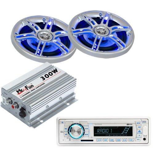 Auto Musikanlage Endstufe LED Boxen Radio CAR-339