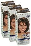 3x Clairol Nice'n Easy By Loving Care Non Permanent Hair Colour - 77 Medium Ash Brown 8 Wash