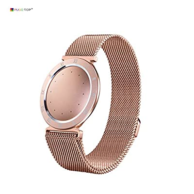 Misfit Shine 2 Band, PUGO TOP Milanese Loop Bracelet Strap Band for Misfit Shine 2 Fitness Tracker