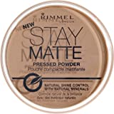 Rimmel face make-up pressed powder stay matte warm beige