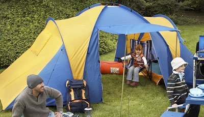 Kingfisher 4 Man Tent