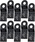 Oshlun MMR-0310 1-1/3-Inch Standard HCS Oscillating Tool Blade for Rockwell SoniCrafter, 10-Pack