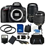 Nikon D5300 Digital SLR Camera (Black...