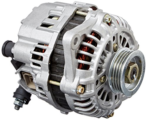 NEW POWERMASTER ALTERNATOR,CHROME,SERPENTINE PULLEY,140AMP,FORD,LINCOLN,MERCURY