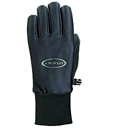 Seirus Innovations Men\'s All Weather Gloves, Black, Small