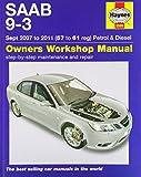 img - for Saab 9-3 Petrol & Diesel Service and Repair Manual: 07-11 (Haynes Service and Repair Manuals) book / textbook / text book