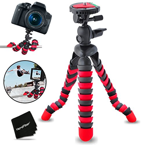 12-inch-flexible-tripod-with-quick-release-plate-for-nikon-coolpix-l840-l830-l820-l810-l620-l610-aw1