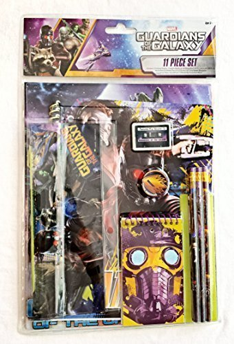 Marvel Guardians of the Galaxy 11 Piece Stationery Set