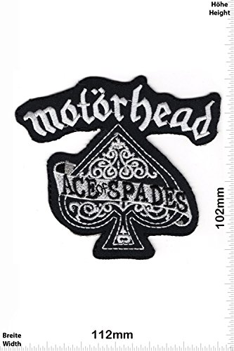 Patch - Motörhead Ace of Spades - big - Motorbike - Motorsport - Motorcycles - Biker - toppa - applicazione - Ricamato termo-adesivo - Give Away