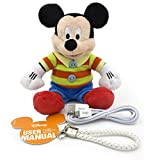 Valentine's Gift Disney Mickey Built-in 5200mah Portable and Adorable Power Bank External Battery for iPhone, Samsung, HTC And Any Other Smart Phone Or Digital Devices.