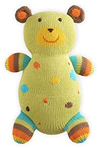Joobles Fair Trade Organic Stuffed Animal - Huggy Bear