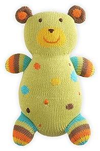 Joobles Fair Trade Organic Stuffed Animal - Huggy Bear