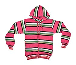Gold Coins Kids Sweater (GC07 _ 7-8 Years, Pink)