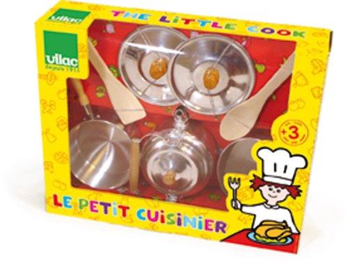 Vilac-8159-Imitation-Dinette-Le-Petit-Cuisinier