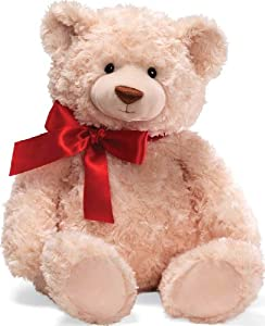 "Gund Christmas Brody with Red Ribbon 20"" Plush from Gund"