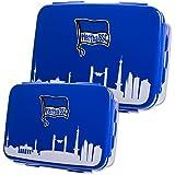 Hertha BSC Brotdose Lunchbox Vorratsdose 2er Set offizielles Lizenzprodukt