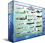 Allied Air Command WWII Bomber 1000-Piece Puzzle