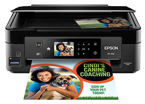 Epson Expression Home XP-430 Wireless Color Photo Printer with Scanner and Copier (Epson Laser Color Printer compare prices)