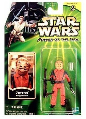 STAR WARS POWER OF THE JEDI ZUTTON SNAGGLETOOTH - 1