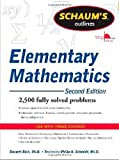 img - for Schaum's Outline of Review of Elementary Mathematics, 2nd Edition (Schaum's Outline Series) book / textbook / text book