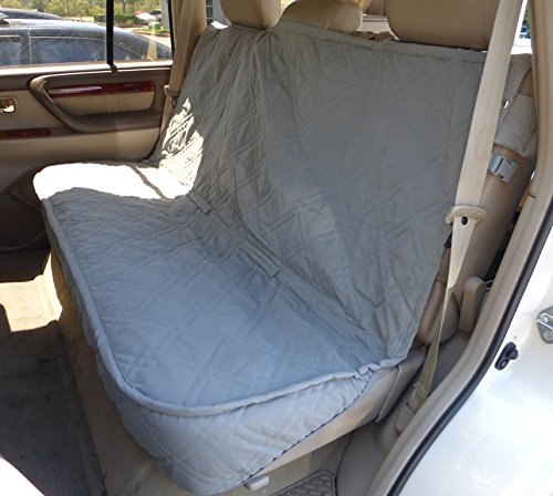 Deluxe Quilted and Padded Back Seat Bench cover - One size fits all 56