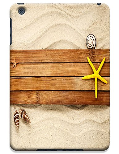 Fantastic Faye Cell Phone Cases For ipad mini No.4 The Fashion Design With Warm Sunshine Beach Blue Sky Clean Water Sea Star Beautiful Shell Slipper