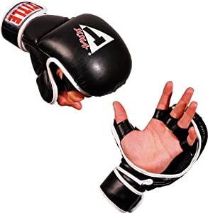 Title Boxing Title Classic Mma Synthetic Safety Training Gloves, L