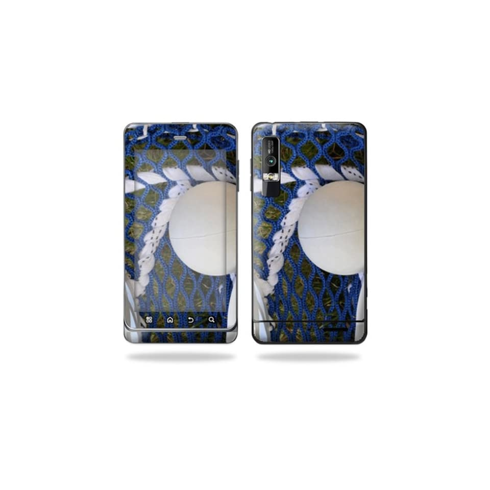Protective Vinyl Skin Decal Cover for Motorola Droid 3 Android Smart Phone Cell Phone Sticker Skins   Lacrossse