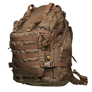 HawksTech Winforce Desert Ship Military Pack Tactical Molle Backpack Camping Hiking Trekking Bag - Coyote