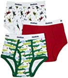 OshKosh B'Gosh Boys 2-7 Alligator 3Pk Briefs