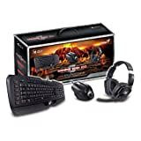 Genius 3-In-1 Gaming Set With Imperator Keyboard, Maurus Gaming Mouse And Lychas Headset Combo (GX-GAMING KMH...