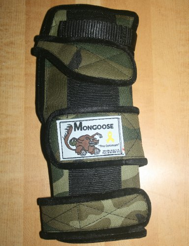 "Mongoose ""Optimum"" bowling Wrist Support Right hand, Large, Camo"